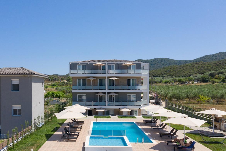 exterior photo Astra Sarti Luxury Suites