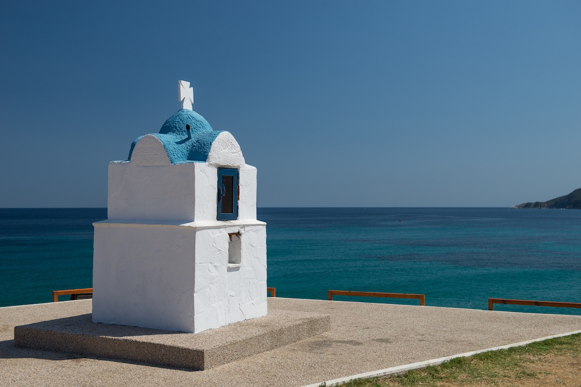 Sarti is located in Sithonia Halkidiki