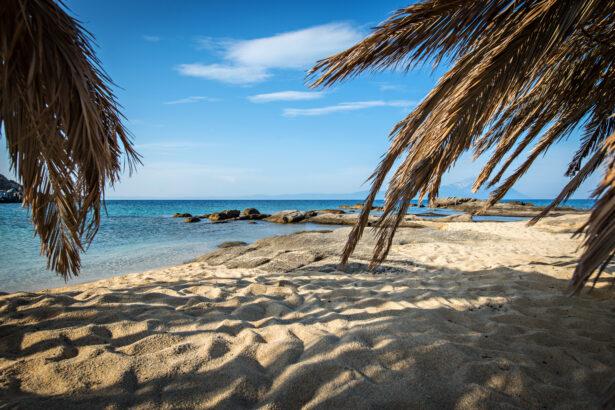 best beaches around Sarti